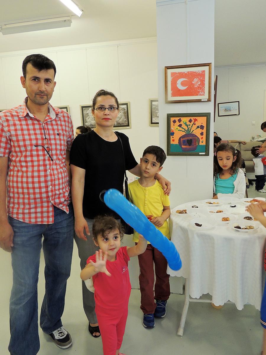 Çocukların Düzenlediği Sanat Sergileri Çukurovada