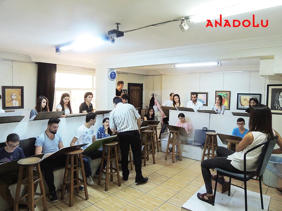 İstanbul Güzel Sanatlara Fakülteleri Hazırlık Sınıfları