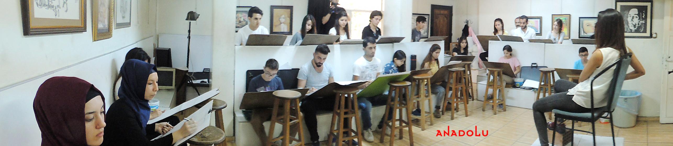 Güzel Sanatlara Fakülteleri Hazırlık Sınıfları Çukurovada