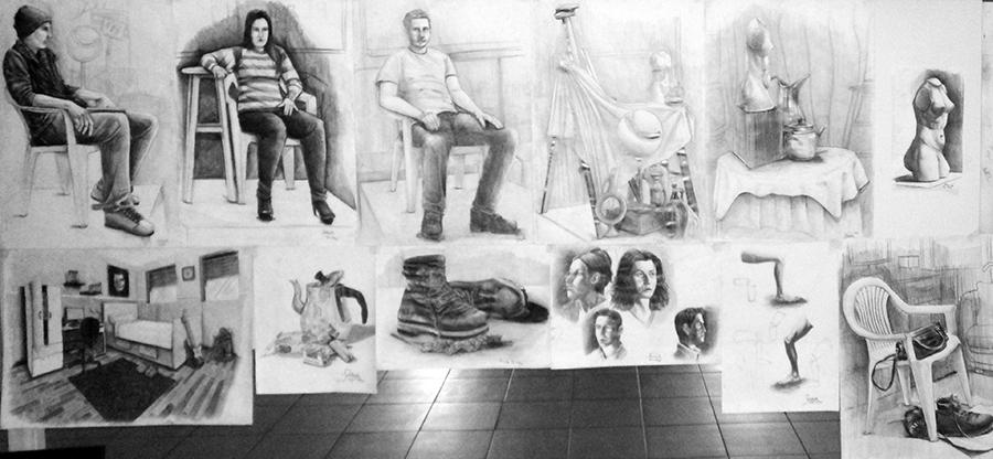 Güzel Sanatlarda Çıkmış İmgesel Çizimler Çukurovada