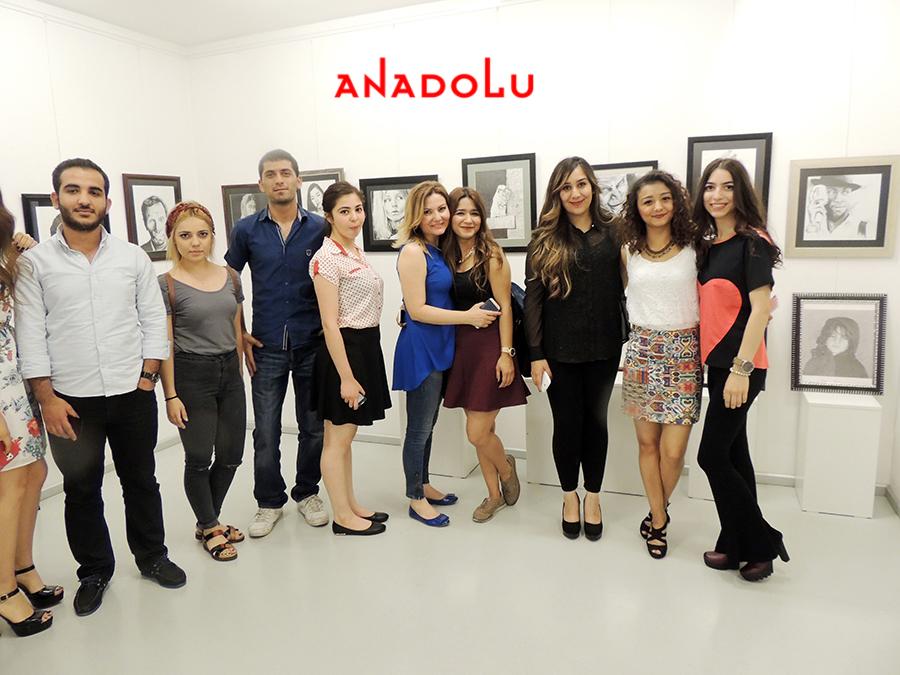 Çukurovada Anadolu Güzel Sanatlarda Sergi Açılışları