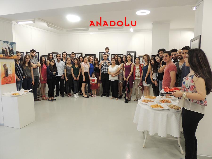 Anadolu Güzel Sanatlarda Sergi Açılışları Çukurovada