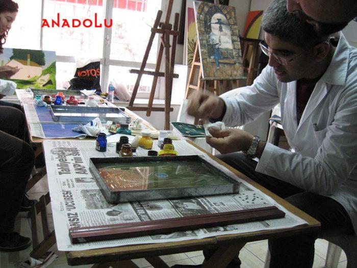 İstanbulda Yetişkinlerle Ebru Kursları