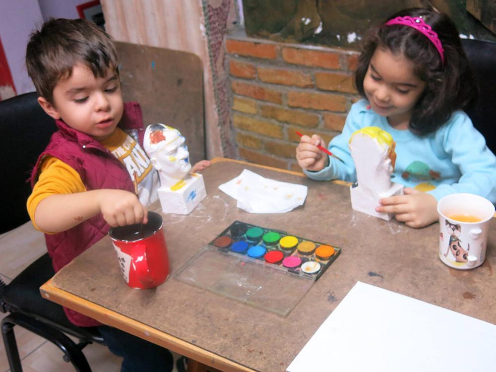 İstanbul Çocuk Sanat Dersleri