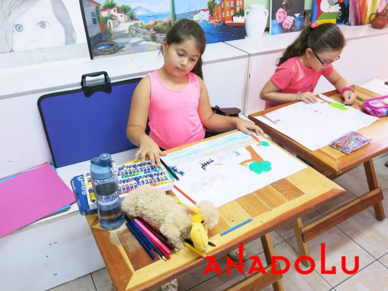 İstanbulda Çocuklara Yönelik Pastel Boyama Kursu
