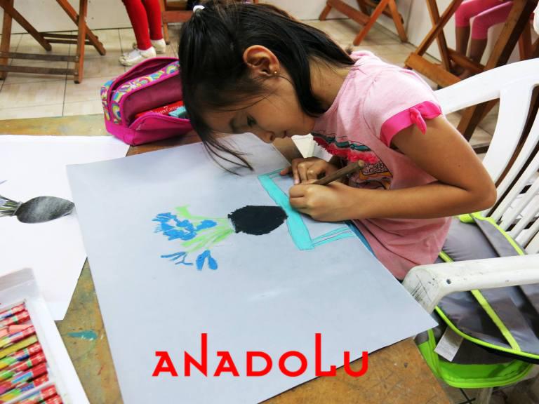 Çocuklar İçin Güzel Sanatlar Kursu Çukurovada