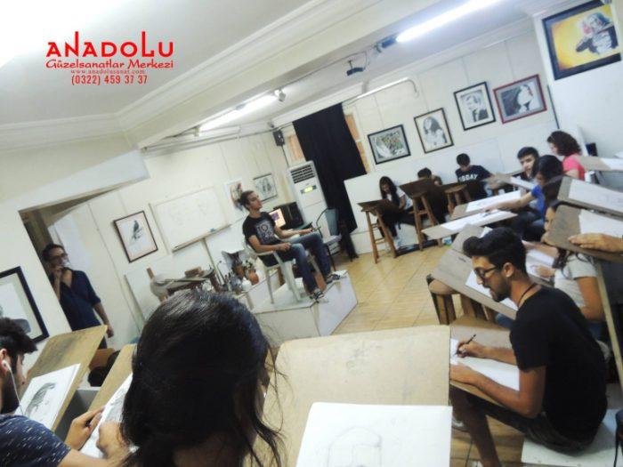 Anadolu Güzel Sanatlar Sanat Kursları Çukurovada