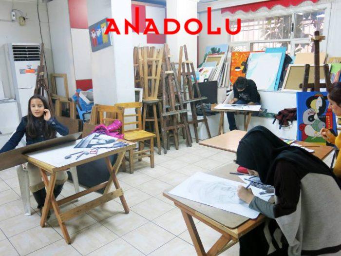 Üniversite Hazırlık Grupları Çizim Dersleri Çukurovada