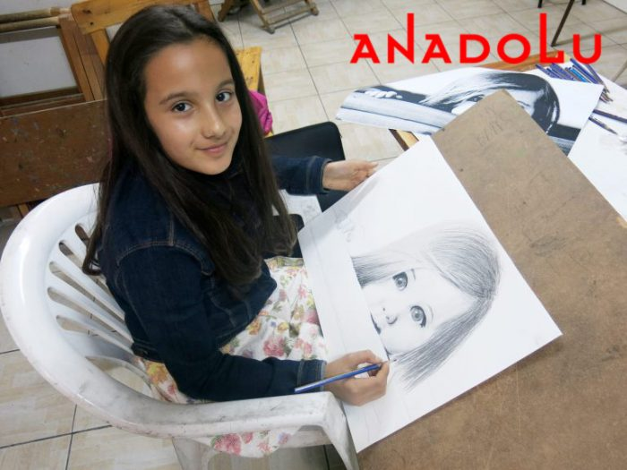 Çocuk Grupları Karakalem Çizim Dersleri İstanbul