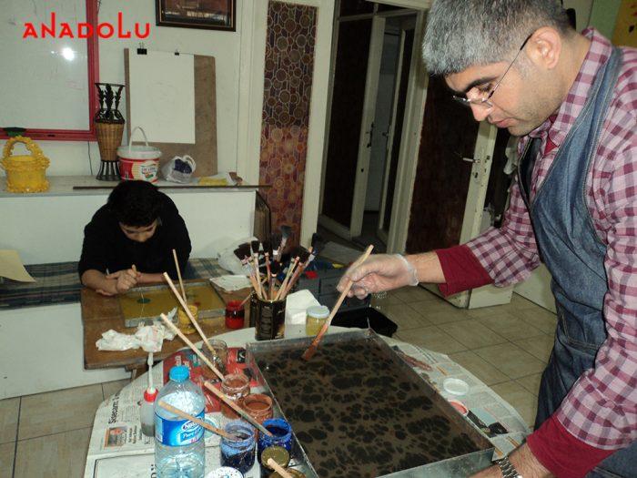 İstanbulda Ebru Eğitimleri