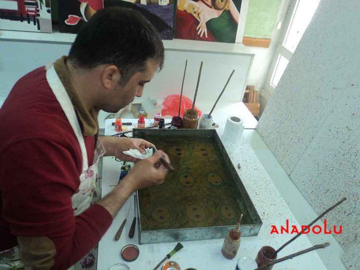 İstanbulda Yetişkinler İçin Ebru Eğitimleri