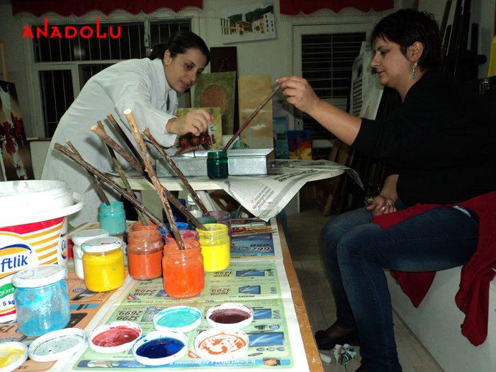 Geleneksel Ebru Kursları İstanbul