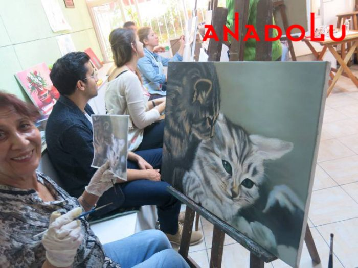 Yağlı boya Hobi Çizim Kursları İstanbul