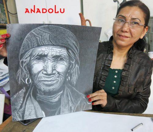 Hobi Karakalem Çizimi İstanbul
